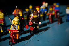 Citizen Cyclists 004 (Mikael Colville-Andersen) Tags: bike bicycle copenhagen toys cyclists lego vélo cyclechic copenhagenize citizencyclists citizencyclist