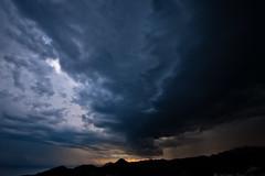 Tempesta (Vicent.Galiana) Tags: sunset mountain storm colors agua colours tormenta puestadesol montaa nube aigua muntanya tempesta postadesol nvol villajoyosa pasvalenci montiboli