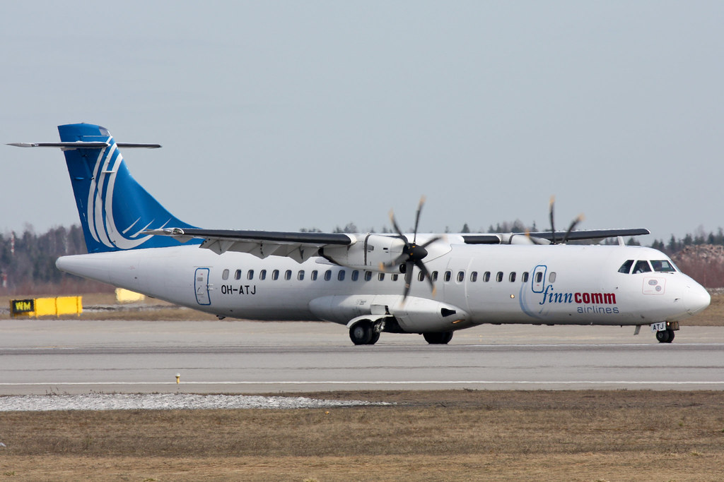 Finncomm Airlines - OH-ATJ - ATR-72-500