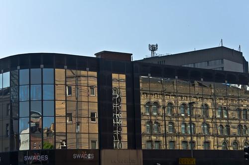 Belfast - Reflections On Victoria Street (Lagan House)