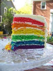 Last slice of cake