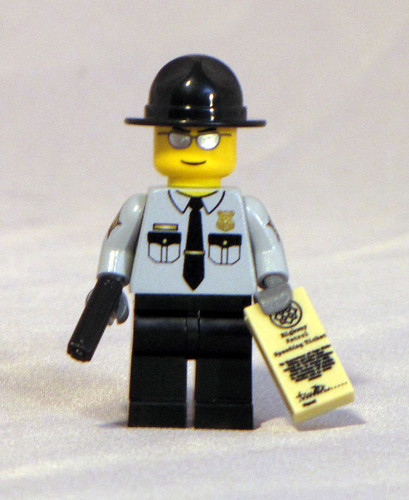 Custom minifig state trooper custom minifig