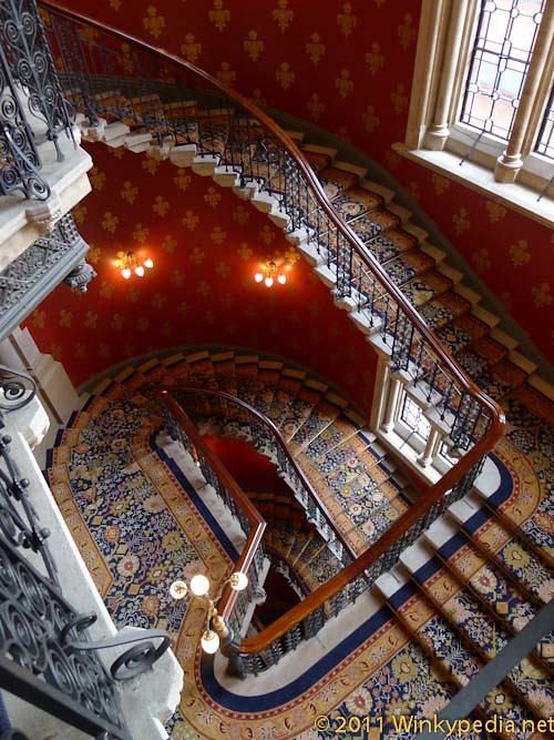 Grand Stairs at St Pancras Hotel