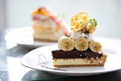 Banana Delight Tart - Fruit Paradise (Xunliang Lin) Tags: fruit singapore paradise central orchard banana delight tart ajisen