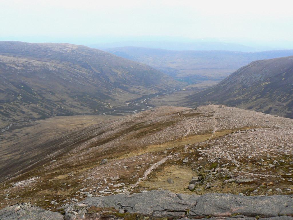 Descent of Sron Riach