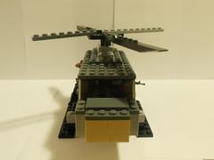 Vietnam Chopper Front (Radical Serpentes) Tags: chopper lego vietnam gunner m60