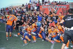 Murcia Cobras-Granada Lions. M.B.