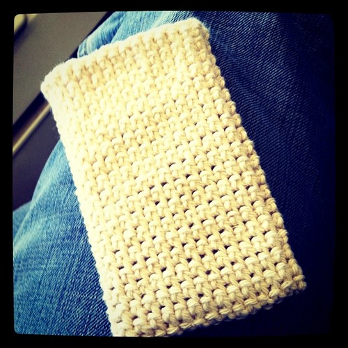 crochet phone cozy