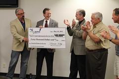 Charleston Marathon presents $40,000 to YEA