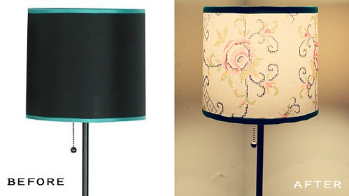 restyle: lamp shade