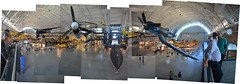 Steven F. Udvar-Hazy Center: Photomontage of main entrance view, including P-40 Warhawk & F-4 Corsair up front, SR-71 Background below in the near distance, and the Space Shuttle Enterprise beyond (Chris Devers) Tags: panorama composite plane airplane virginia smithsonian dulles stitch space aircraft jet nasa va shuttle photomontage corsair vehicle spaceship airforce fairfax enterprise lockheed usaf spaceshuttle blackbird nationalairandspacemuseum spacecraft sr71 coldwar dullesairport chantilly airandspacemuseum sr71blackbird spyplane supersonic udvarhazy smithsonianinstitution p40 stevenfudvarhazycenter kellyjohnson spaceshuttleenterprise hockneyesque reconnaissance sr71a speedrecord stevenfudvarhazy f4ucorsair eyefi p40warhawk clarencejohnson curtissp40warhawk voughtf4ucorsair spaceshuttleorbiter flickrstats:favorites=1 exif:filename=dscjpg meta:exif=1350393768