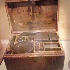 George Washington's camping kit.