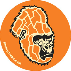 The Gorilla Sticker