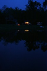 trees reflection nature water fire dawn spring pond michigan daybreak