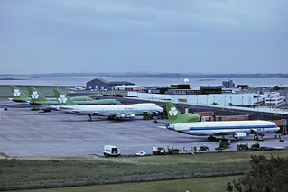 L1011 N190AT & 3 x 747 AER LINGUS