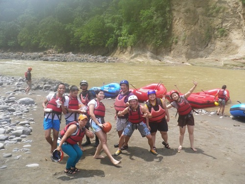 dwa lunch break davao white water rafting