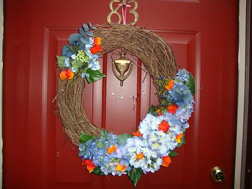 6/9/11 front door wreath