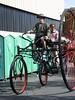 Odd Cycle, big wheel bike (pr0digie) Tags: bicycle tricycle bigwheel 3wheel makerfaire oddcycle rudgerotary