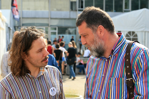 Aleksandr Gavrilov and Sergey Parkhomenko