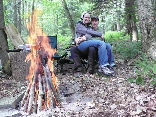 Camping Date Night