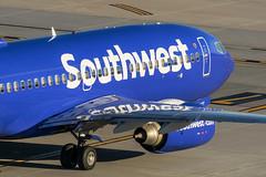 Southwest / B737 / KPHX (_Wouter Cooremans) Tags: groen kphx phx phoenix phoenixskyharbor skyharbor skyharborinternationalairport spotting spotter avgeek aviation airplanespotting southwest b737
