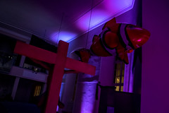 20160317-DSC_0070 (isabelle.kirsch) Tags: kantorei offenbach evangelisch stadtkirche luminale 2016 zweitausendsechzehn lichtinstallation lumination wasser wetter licht