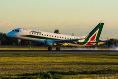 [ORY] Alitalia CityLiner Embraer ERJ-145 _ EI-RDF (thibou1) Tags: eirdf alitalia cityliner embraer erj145 thierrybourgain ory lfpo orly spotting aircraft airplane nikon d7100