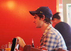 Is this Andrew Garfield? (danimaniacs) Tags: cap andrewgarfield