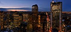 Calgary Skyline (Surrealplaces) Tags: city canada calgary skyline skyscraper downtown alberta thebow encana