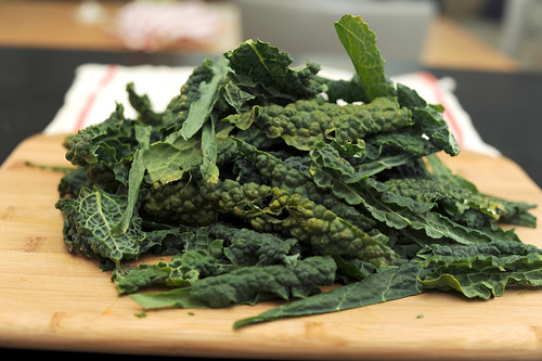 a big pile of kale