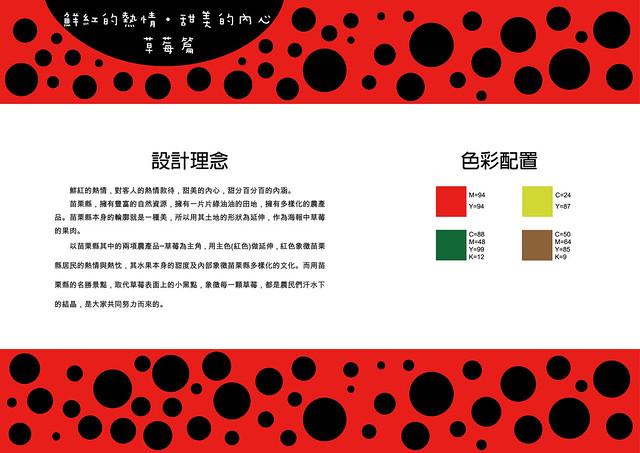 吳金燕-作品設計圖(草莓篇)
