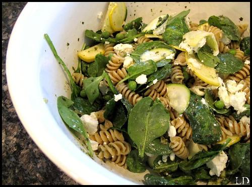 Green Godess Pasta Salad