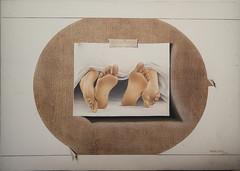Sonho-te to atento (Renata Lauer) Tags: branco de arte galeria quadro sexo ps papel obra realismo pintura sobre leo tela surrealismo hiperrealismo linho rasgado
