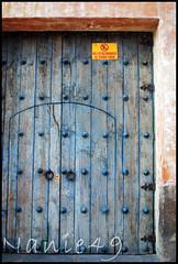 Puerta, Antigua, Guatemala. (nanie49) Tags: door wood puerta nikon guatemala roadtrip antigua porte bois centralamerica centroamerica d80 colorphotoaward amriquecentrale