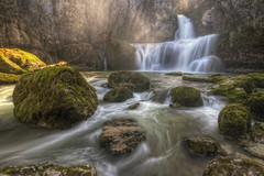 Cascade de la Billaude (Philippe Saire || Photography) Tags: france fall nature water rock canon eos waterfall eau long exposure pierre sigma wideangle 7d 1020mm cascade chute hdr franchecomt gettyimages photomatix billaude philippesaire