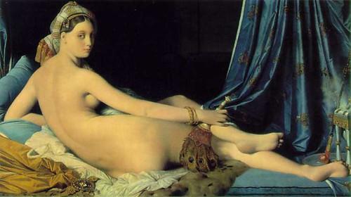 Ingres - La gran Odalisca - 1814