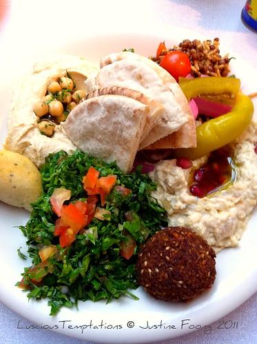 Maze Plate for 1 - Comptoir Libanais, Marylebone