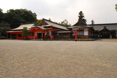 at Usa shrine