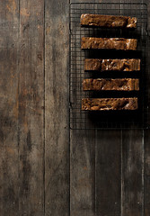 Chocolate brownies w dulce de leche (DarioM_72) Tags: food dessert chocolate biscuits brownies foodphotography alimentos foodstyling chocolatebrownies dariomilano  foodpixels foodphotographysydney foodstylingsydney