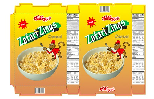 Cereal Box Design
