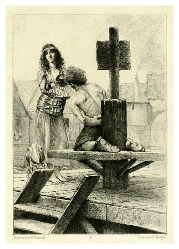 019-Notre Dame de Paris-Illustration des oeuvres complètes de Victor Hugo (Volume 2) 1885 - Flameng, François