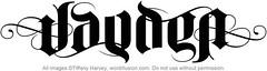 """Jayden"" Ambigram, v.3"