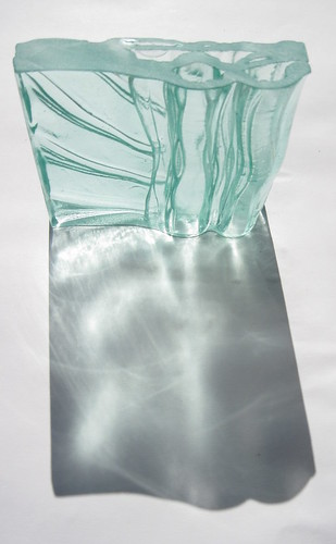 Kiln cast glass