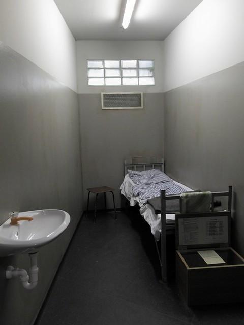 cellule de prisonniers de la stasi à Berlin (DDR Museum)