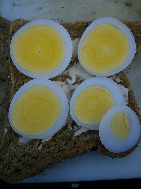 duck eggs from the farmers market