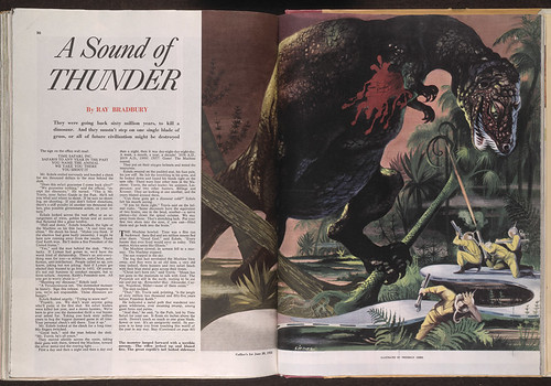 Ray Bradbury 'A Sound of Thunder', first published in Collier's Weekly, 28 June 1952