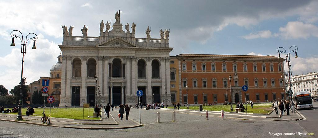 Basilique Saint-Jean de Latran, à Rome
