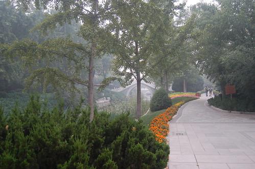 Gartenanlage in Harmonie