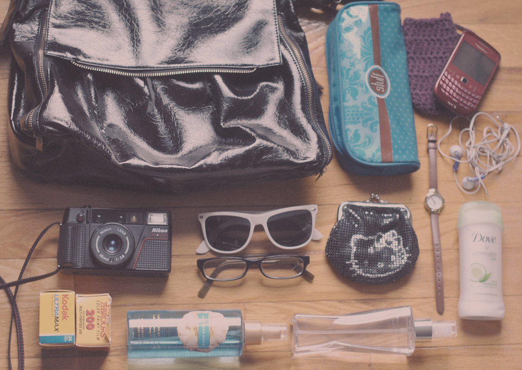 94/365; what's in my bag?