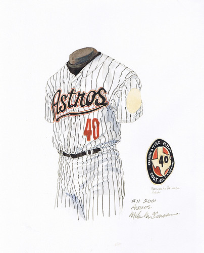 old houston astros uniforms. Houston Astros 2001 uniform